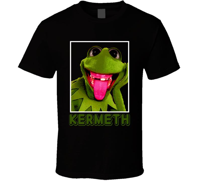 Kermit the Frog Kermeth funny trending t-shirt