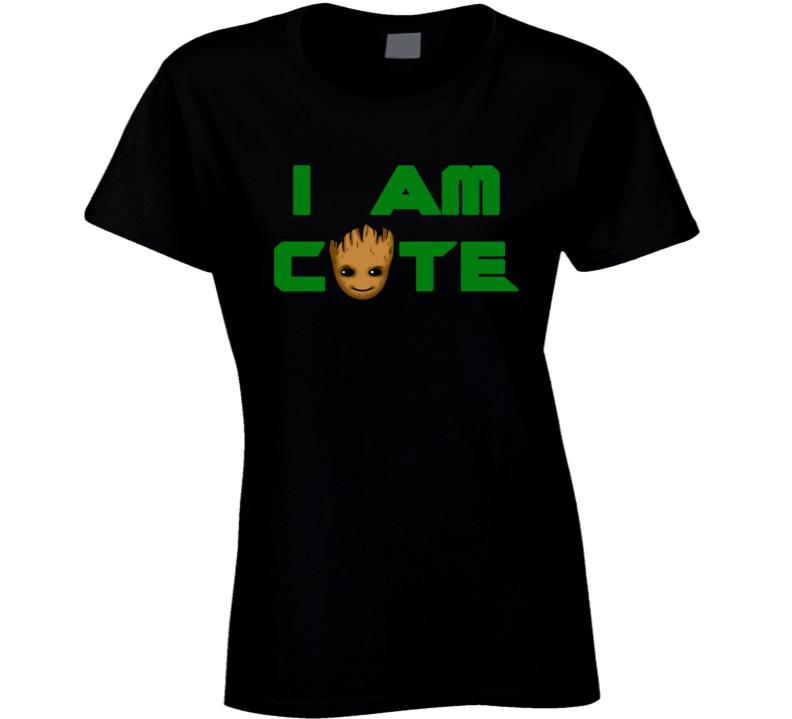 Guardians of the Galaxy Vol 2 Baby Groot cute trending fan t-shirt 2