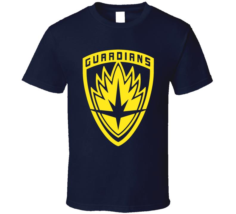 Guardians Insignia patch logo Galaxy Vol 2 comics movie trending t-shirt