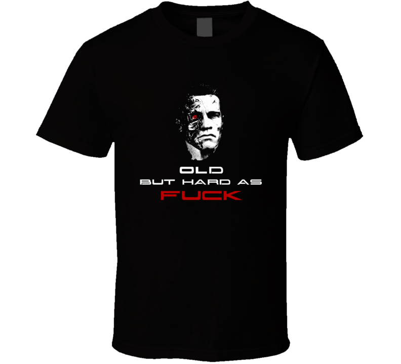 Terminator inspired Arnold elder inspiration motivation t-shirt