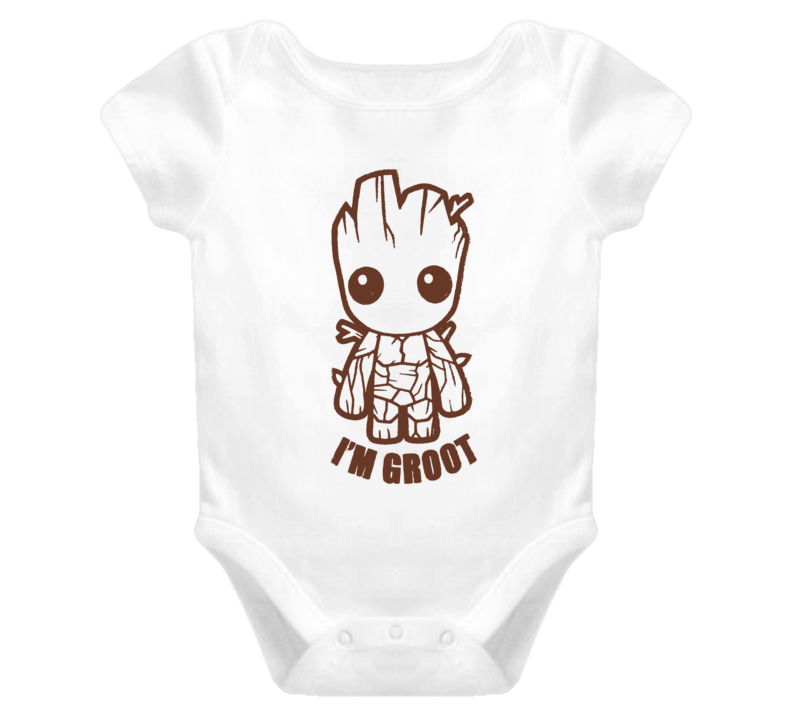 Guardians of the Galaxy Vol 2 Baby Groot I'm Groot distressed style fan t-shirt 2