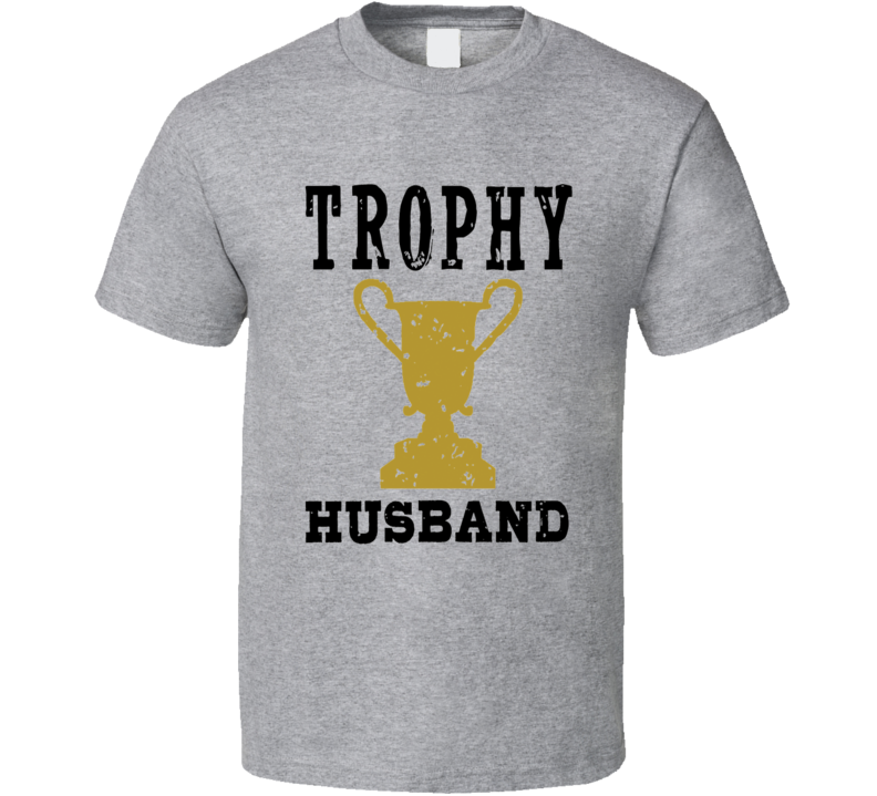 Trophy Husband Ashton Kutcher worn on bachelorette tv fan t-shirt