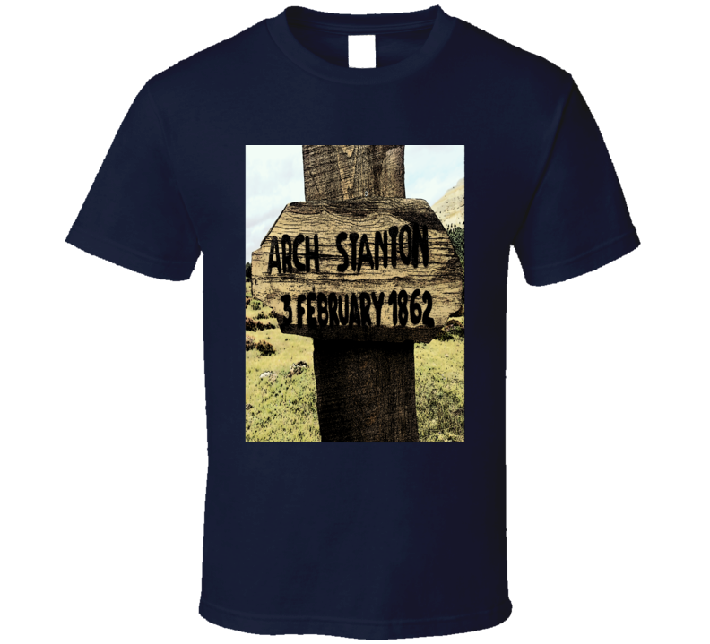 Arch Stanton grave marker good bad ugly spaghetti western Clint Eastwood fan t-shirt