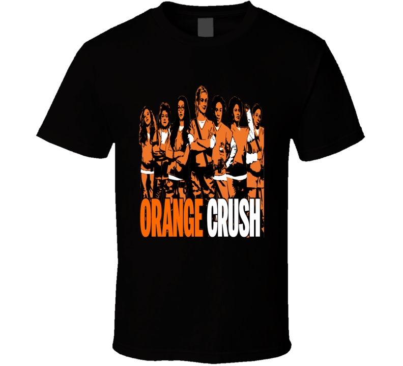 Orange is the New Black Season 5 distressed poster style cast t-shirt