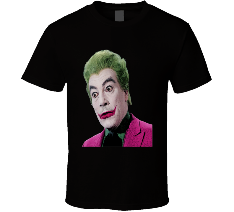 The Joker Original Batman TV Series Cesar Romero retro TV fan comic book effect  t-shirt