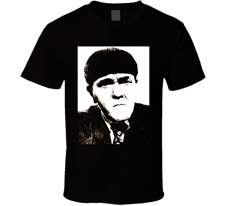The Three Stooges Moe Howard classic comedy movie fan t-shirt