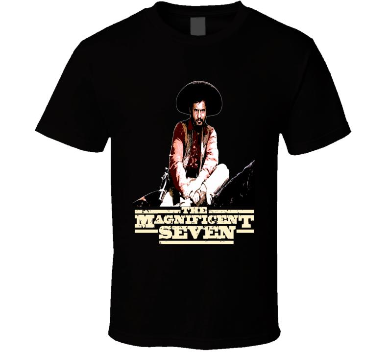The Magnificent 7 Eli Wallach Bandit Calvera Western movie fan t-shirt