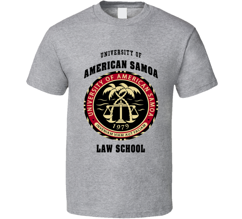 University of American Samoa Law School Better call Saul fan t-shirt