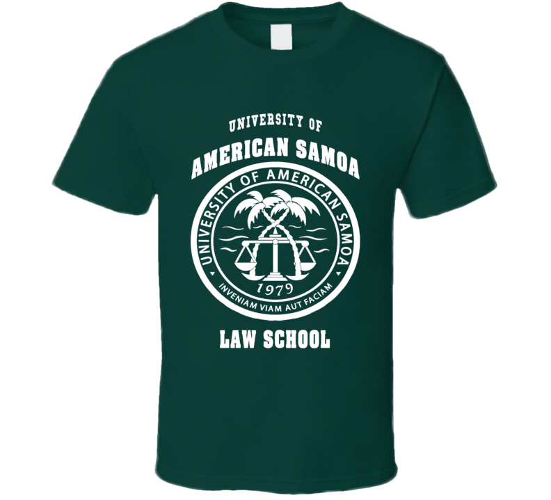 University of American Samoa Law School Better call Saul fan t-shirt 2