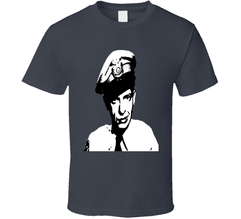 Barney Fife Andy Griffith show Don Knotts fan vintage style t-shirt