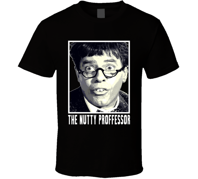 Jerry Lewis The Nutty Proffessor Tribute RIP t-shirt