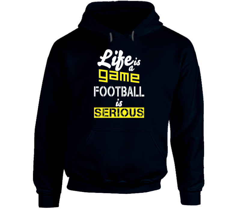 Football Season Fan Saying Nfl Hooded Pullover