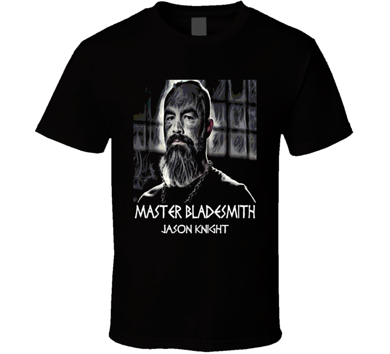 Forged in Fire Judge Jason Knight Master Bladesmith t-shirt
