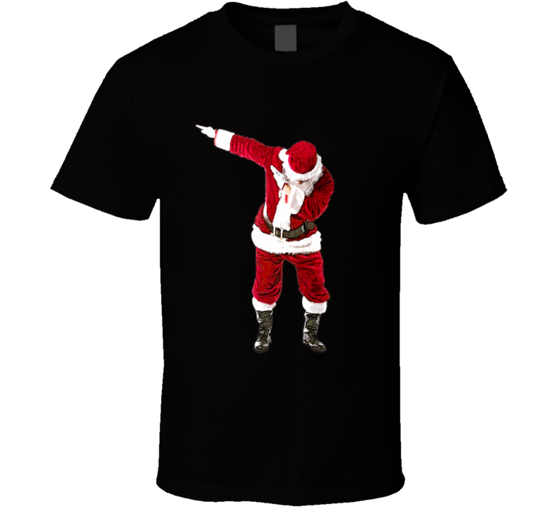 The Santa Dab Santa Claus Funny Christmas Sweater T-Shirt