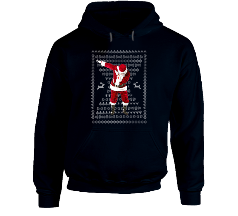 The Santa Dab Santa Claus Funny Ugly Christmas Sweater T-Shirt