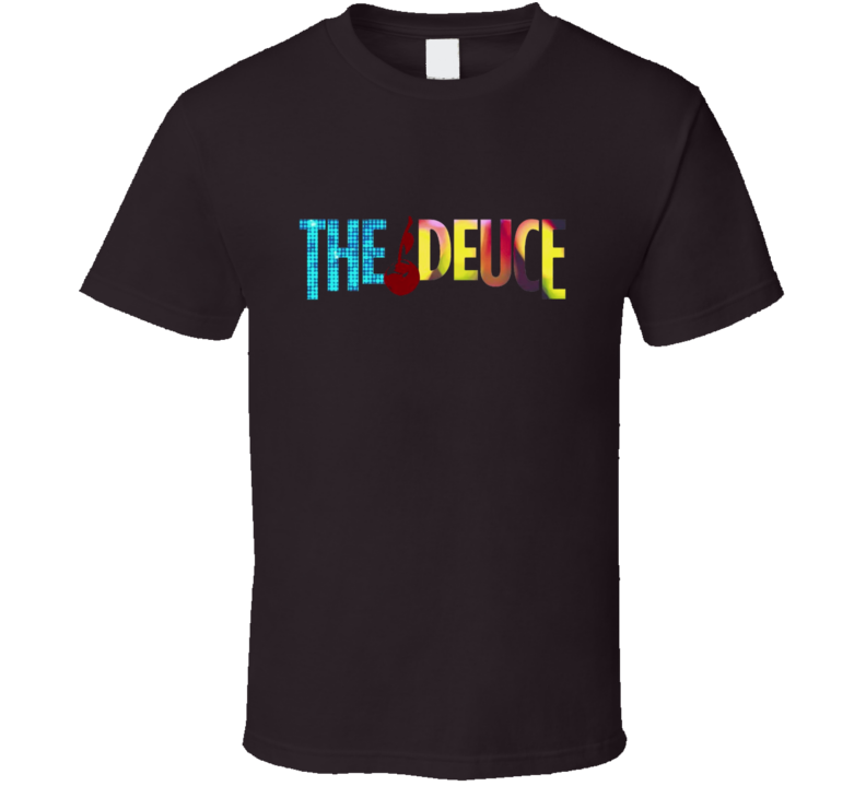 The Deuce James Franco HBO Series Logo T-Shirt Tie Dye