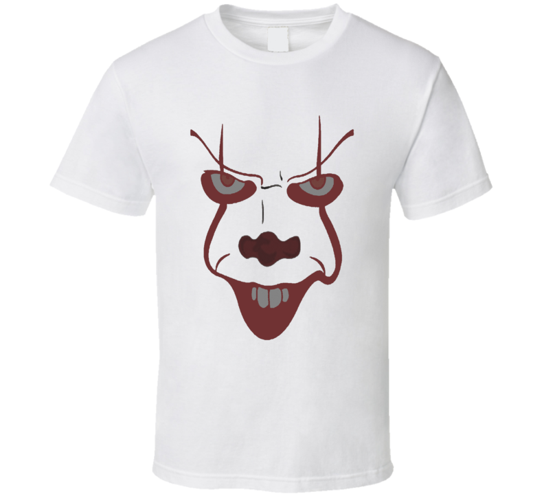 Pennywise the Clown IT Stephen King Comic Book Effect t-shirt