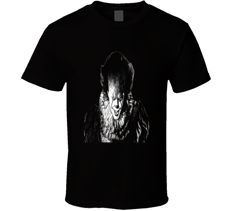Pennywise The Clown Stephen King It Scary Halloween T-shirt