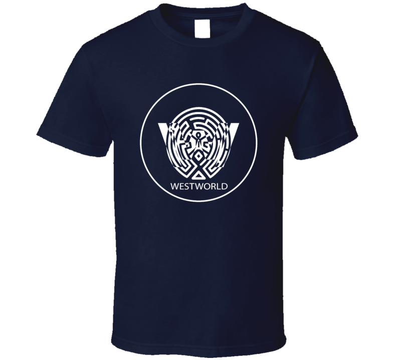 Westworld Logo Maze TV Sci-Fi Series Fantasy T-Shirt