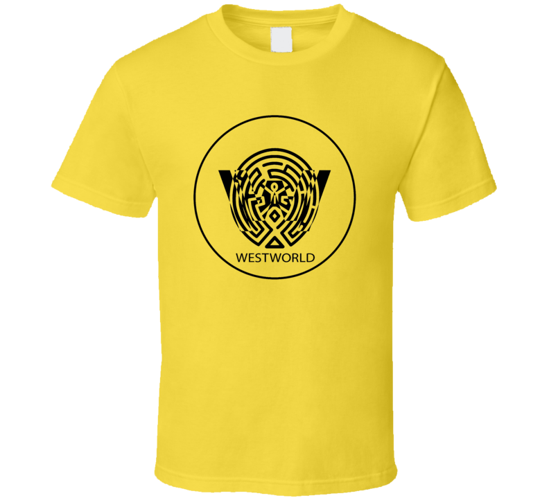 Westworld Logo Maze TV Sci-Fi Series Fantasy T-Shirt 2