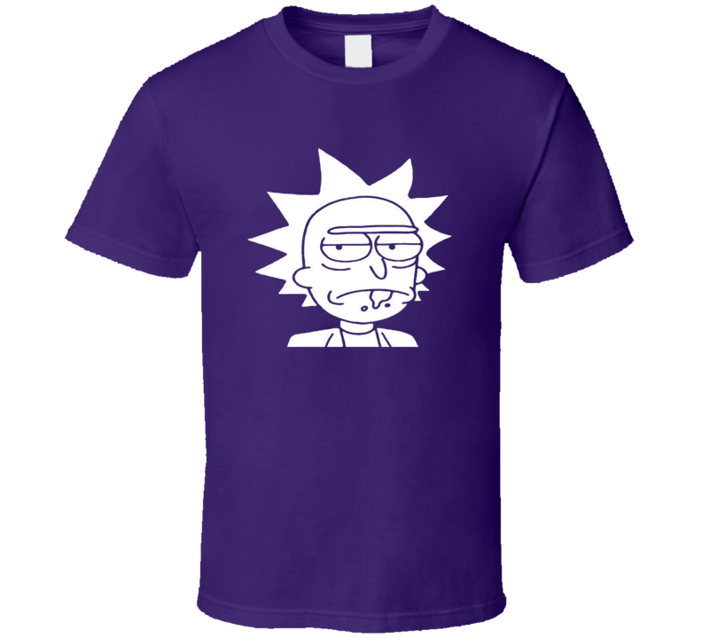 Rick and Morty Morty Head Shot Funny Cartoon T-Shirt