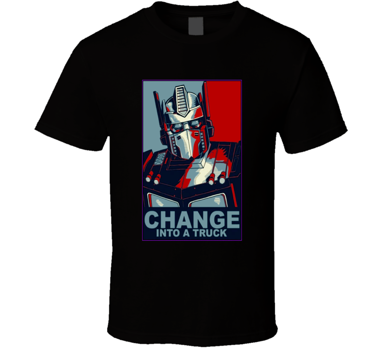 Optimus Prime Transformers Change Style Poster T-Shirt