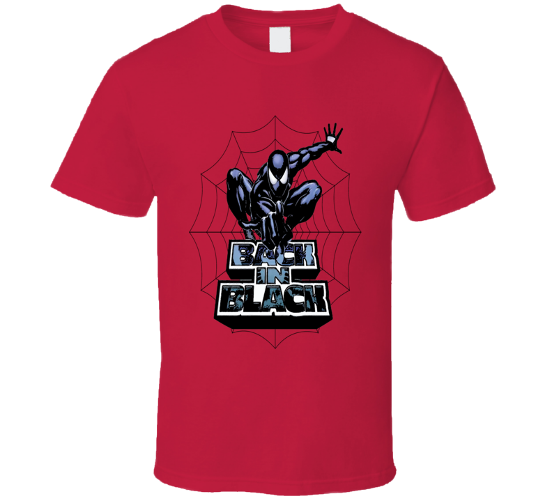 Amazing Spiderman Vintage Venom Style Super Hero T-Shirt