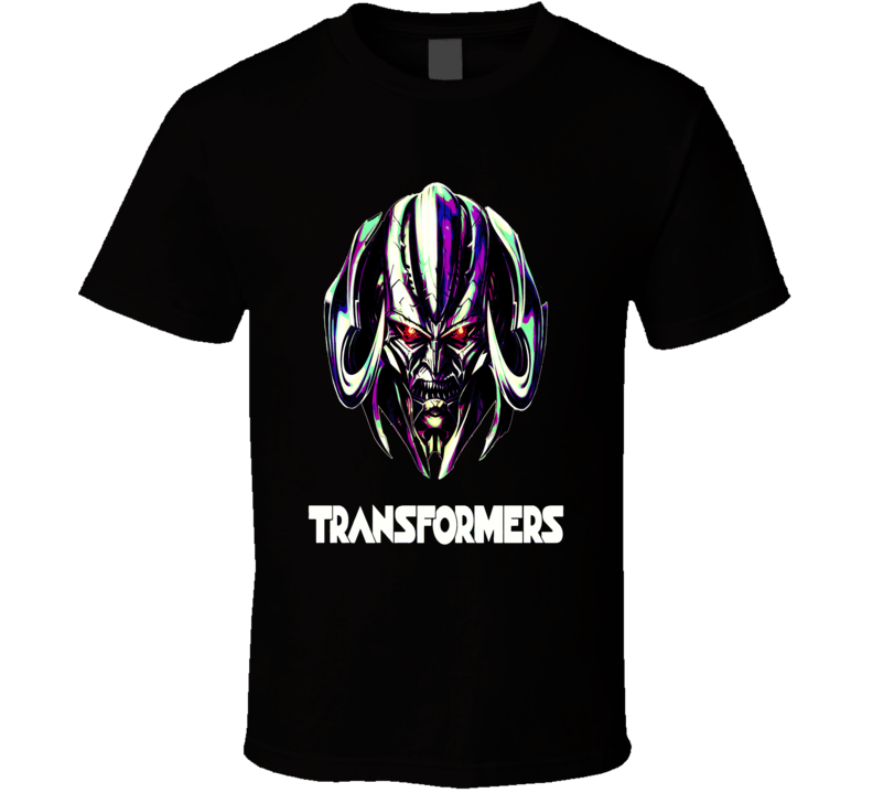 Transformers Megatron Cyborgs Optimus Last Knight Fan Film T-Shirt