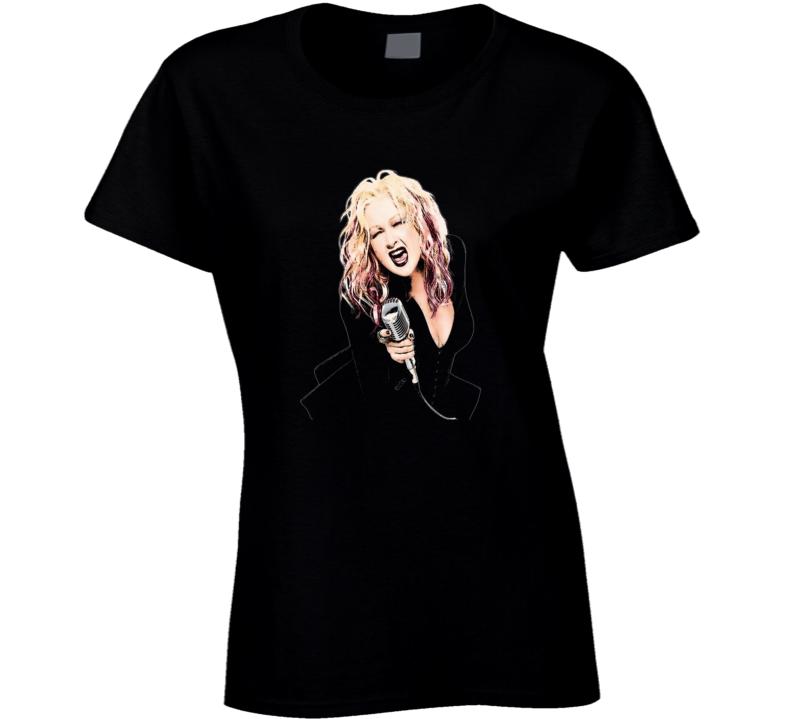 Cyndi Lauper 80's Dance Music Girls Wanna Have Fun Fan T-Shirt