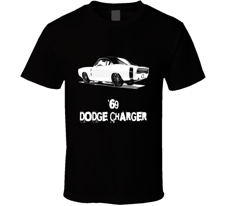 1969 Dodge Charger Mopar Fan Distressed style T-Shirt