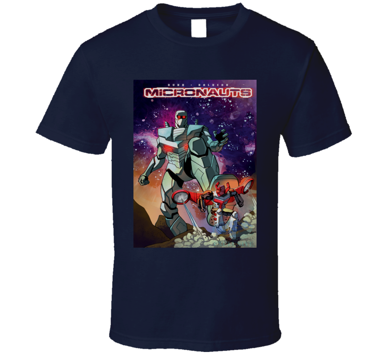 Retro Sci-fi Toys Galactic Warrior Acroyear Space Glider T-Shirt