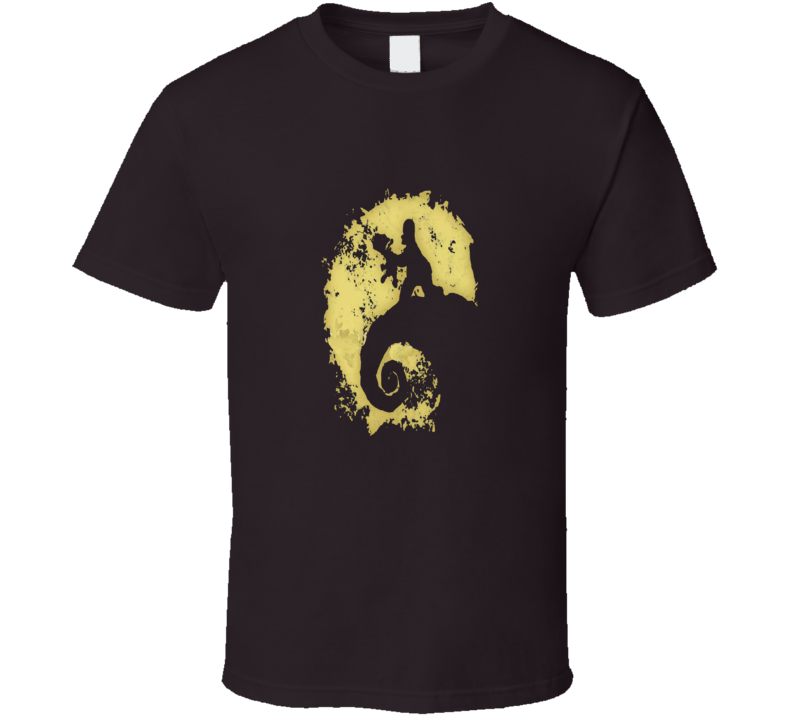 The Simpsons Movie Nightmare Christmas Lion King Parody T-Shirt