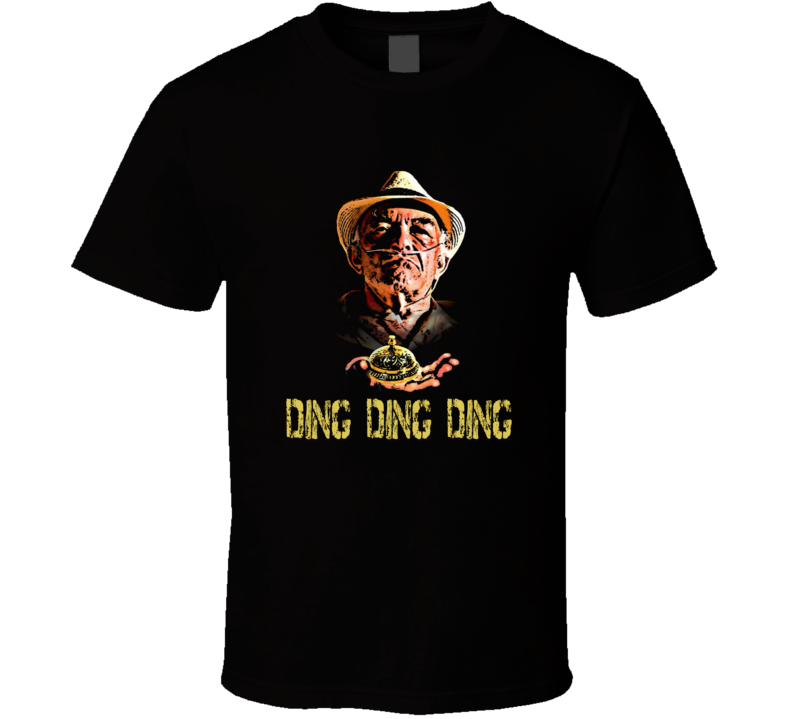 Breaking Bad inspired Tio Salamanca Ding Ding Ding T-Shirt