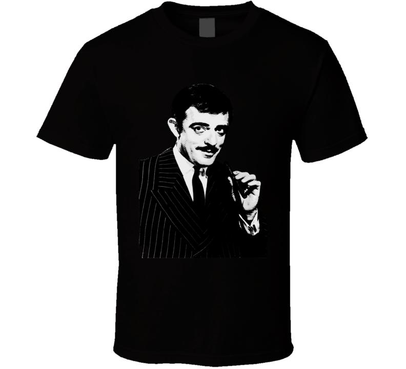 Gomez Addams The Addams Family Retro TV Series T-Shirt