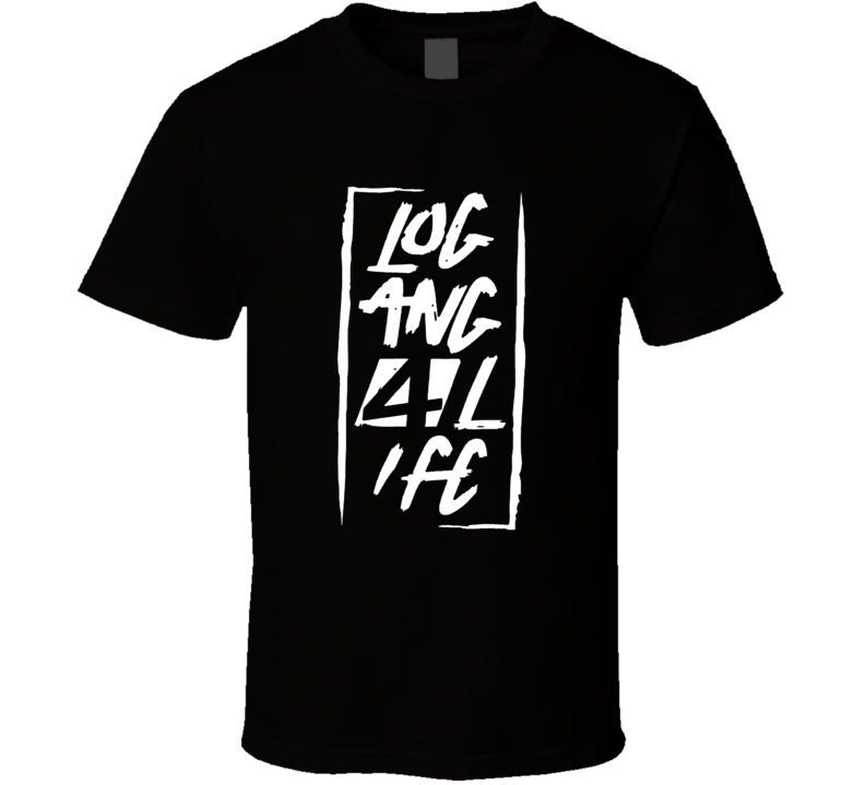 Logan Paul Logan 4 Life Logo T-Shirt