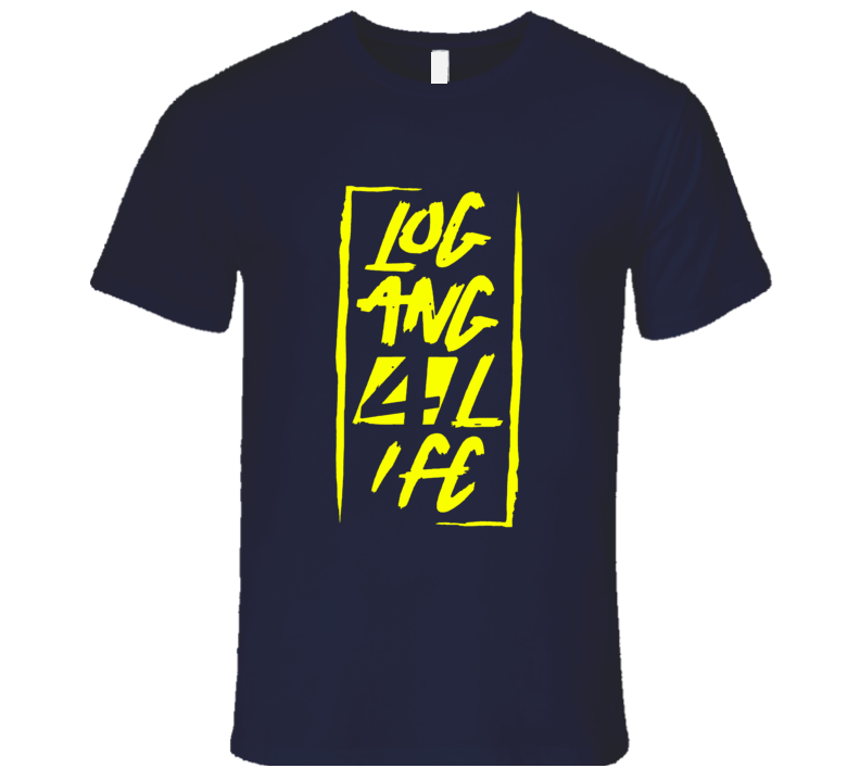 Logan Paul Logan 4 Life Logo T-Shirt 2