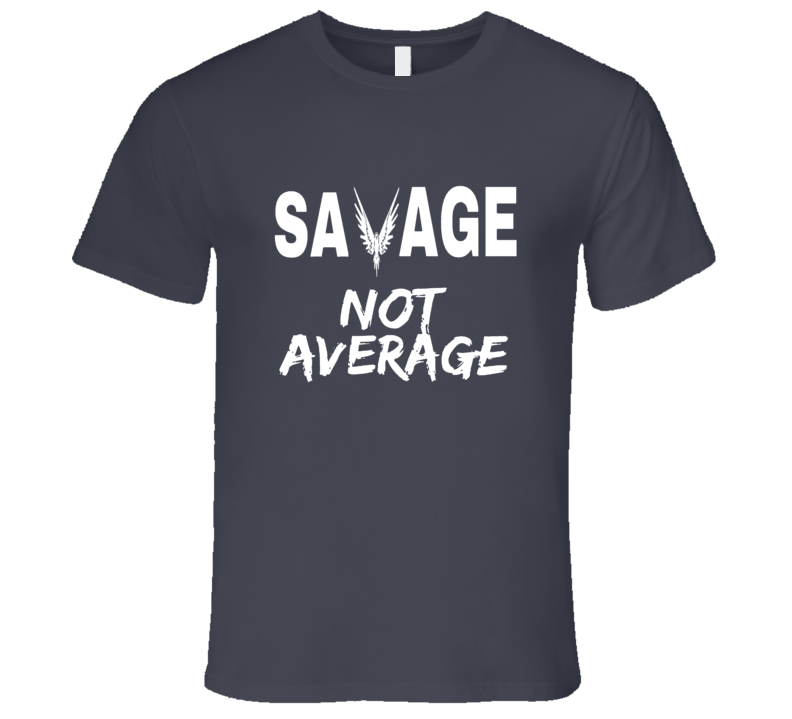 Logan Paul Savage Not Average Graphic T- Shirt
