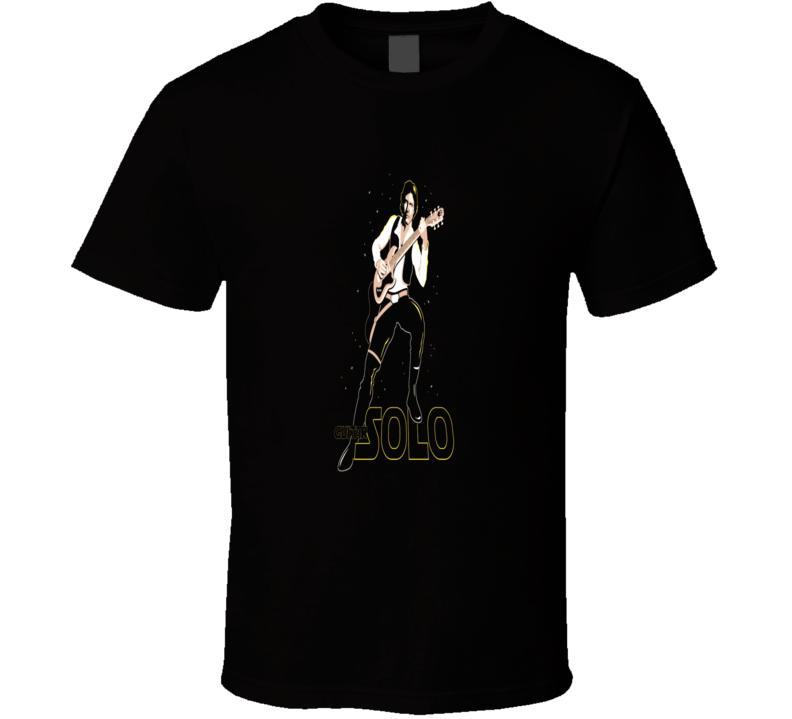 Han Solo Guitar Star Wars Parody Funny Music movie T-Shirt