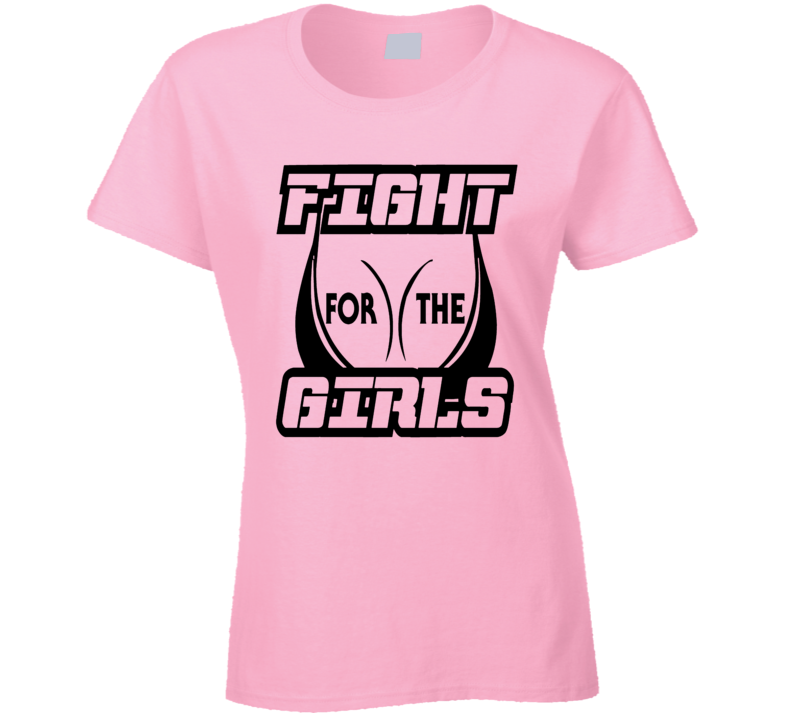 Fight For The Girls Breast Cancer Awareness T-Shirt