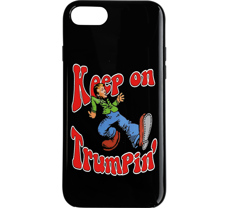 Keep On Trumpin Retro Style Pro President Trump Funny iPhone Case  Phone Case