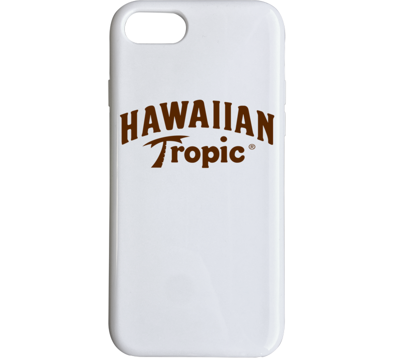 Hawaiian Tropic Suntan Oil Lotion Logo iPhone Case  Phone Case