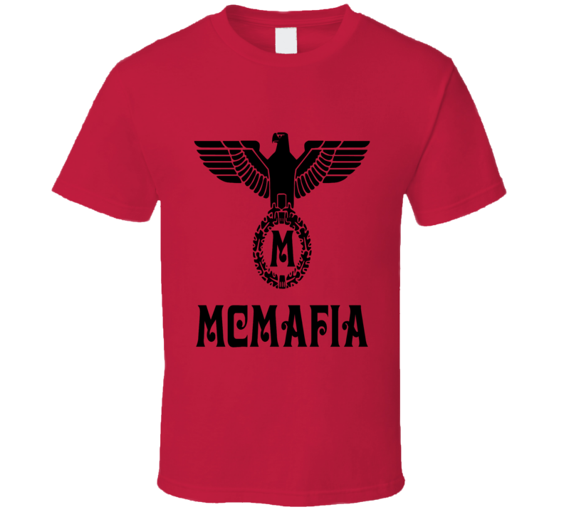 McMafia TV Series Retro Style German Logo T-Shirt