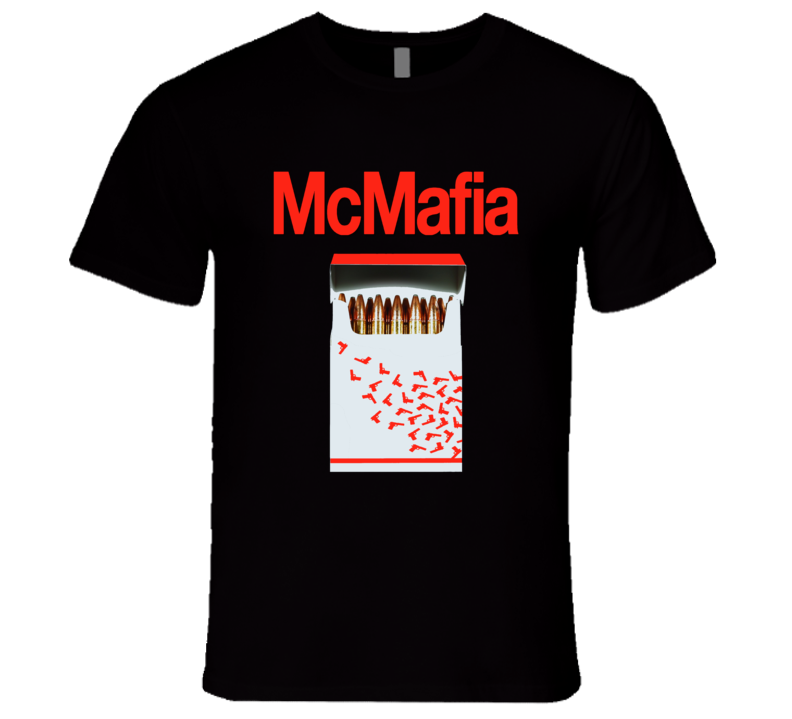 McMafia Logo with Bullets and Revolver Fan Favorite T-Shirt