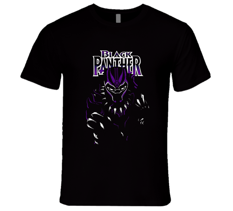 Black Panther Super Hero Wakanda Comics T-Shirt