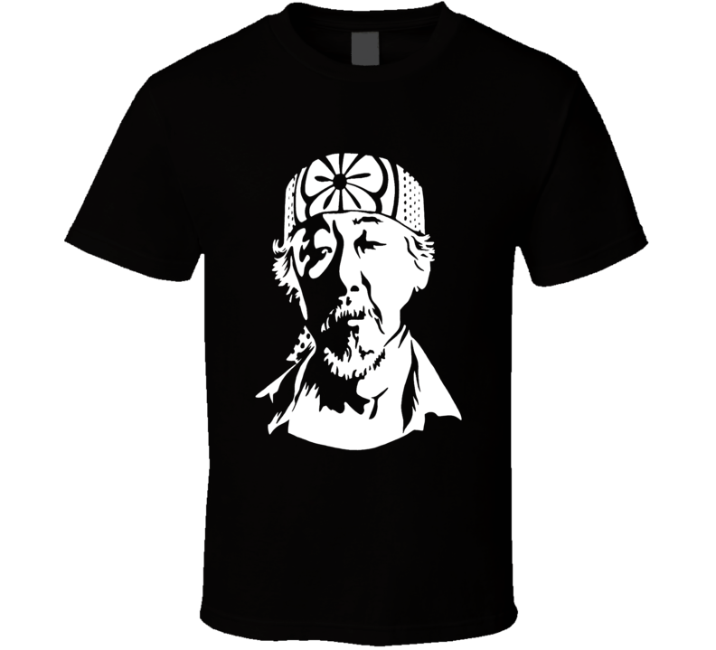 Mr. Miyagi Karate Kid Classic 80's Movie T-Shirt