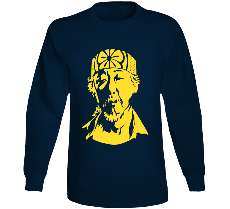 Mr. Miyagi Karate Kid Classic 80's Movie T-Shirt 2
