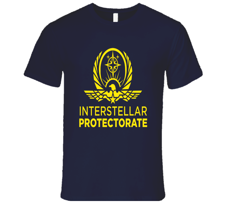Altered Carbon Interstellar Protectorate Logo T-Shirt