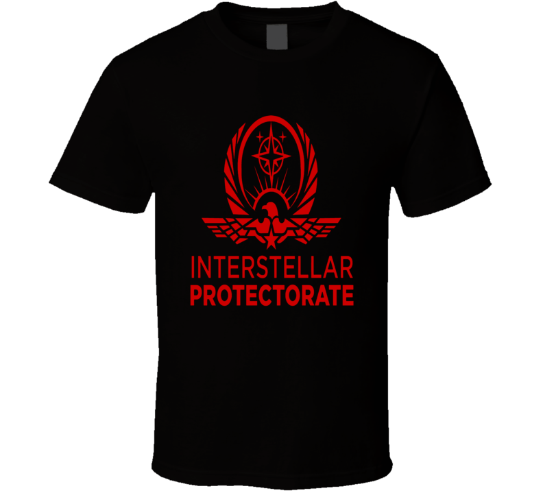 Altered Carbon Interstellar Protectorate Logo T-Shirt 2