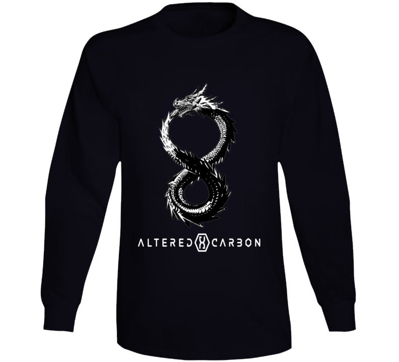 Altered Carbon Dragon Helix Tattoo Logo Fan T-Shirt Phone Case