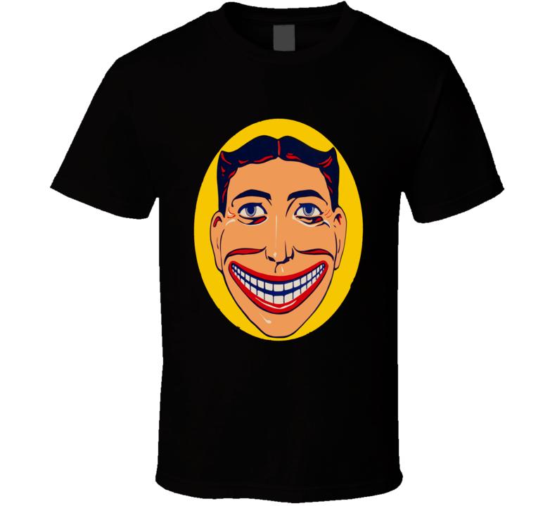 Coney Island Steeplechase Coaster Retro Ride Face Logo  T Shirt